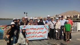 برنامه گردشگری بازنشستگان در چیتگر