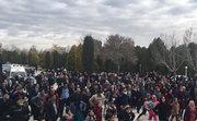 گردهمایی بازنشستگان اصفهانی در باغ غدیر به مناسبت دهه فجر