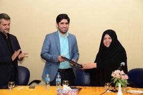 گزارش تصویری از معرفی رئیس جدید منطقه سه