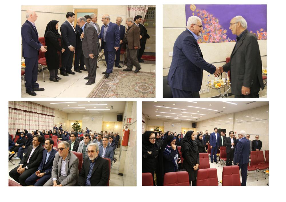 دیدار نوروزی رئیس هیئترئیسه با کارکنان صندوقها برگزار شد