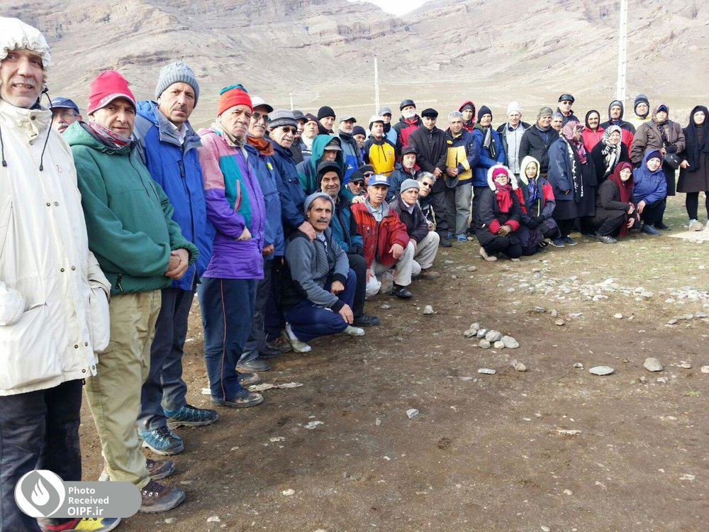 یکصد نفر از بازنشستگان تبریزی کوهپیمایی کردند