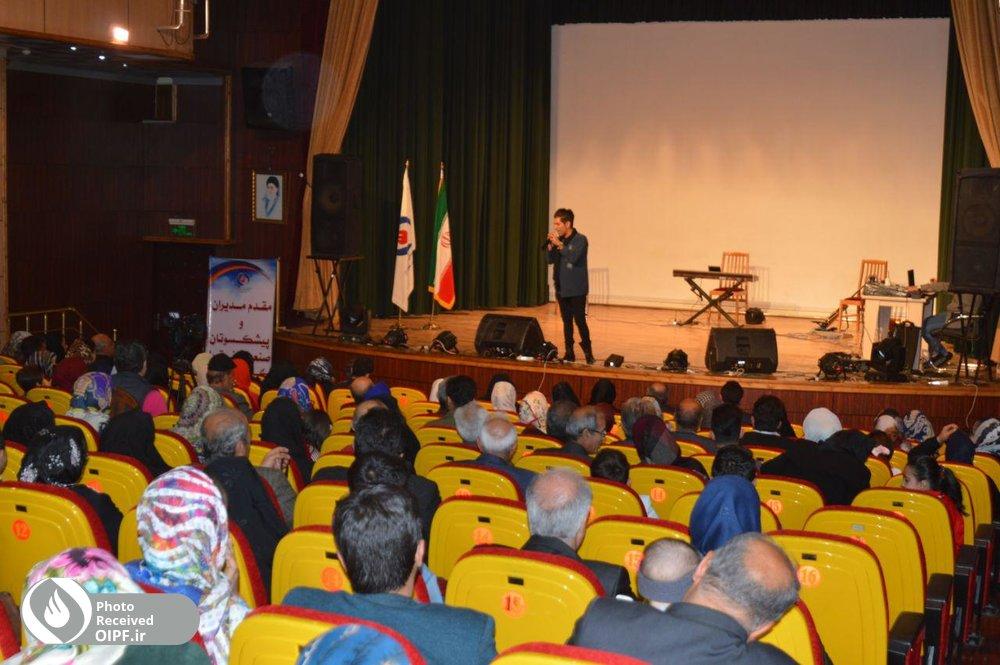 منطقه هفت صندوق ها میزبان بازنشستگان نفت در ارومیه شد