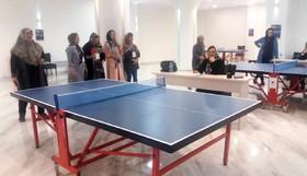 رقابت بازنشستگان در رشته تنیس روی میز