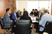جلوهای از نشست هیئتمدیره کانون شهرری با رئیس صندوقها