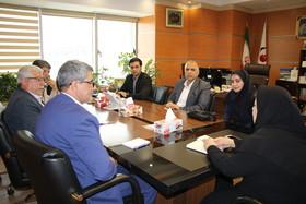 دیدار اعضای هیئت مدیره کانون شهرری با رئیس صندوق ها