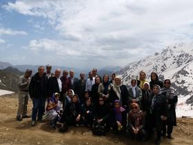 بازنشستگان استان کردستان از اورامان دیدن کردند