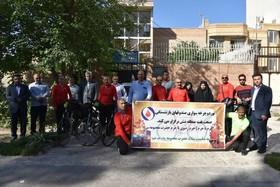 دوچرخه سواری/ بازنشستگان سرخس/ حرم تا حرم