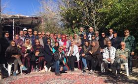 نشاط بازنشستگان شیراز در پرتوی برنامههای گردشگری