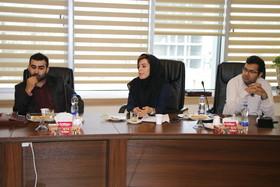 نشست رییس و کارشناسان فناوری اطلاعات با معاون بازنشستگی و رفاه