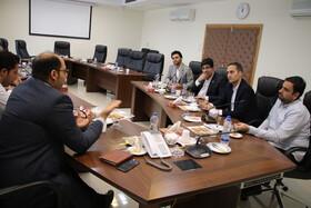 نشست رییس و کارشناسان فناوری اطلاعات با معاون سلامت،بهداشت و درمان