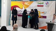 اختتامیه سومین دوره مسابقات ورزشی در بخش دختران