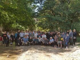 بازدید خانوادگی بازنشستگان از روستای فیروزه