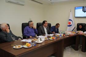 نشست اعضای هیات مدیره کانون مازندران با رییس صندوق ها