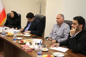 دیدار هیئت مدیره کانون آبادان با رئیس و معاونین صندوق ها