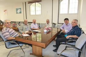 بازدید از کانون بازنشستگان اصفهان