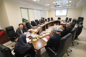 دیدار هیات مدیره کانون خطوط لوله با رئیس صندوق ها
