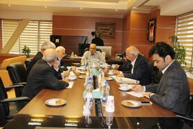 دیدار و گفتگوی هیات اجرایی کانونهای بازنشستگان با رئیس هیات رئیسه