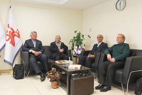 عکس /بازدید روسای کانون های شیراز و تبریز از دفتر نشریه
