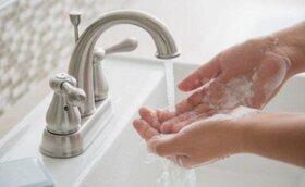 پوستر روش درست شستن دستها / مهم