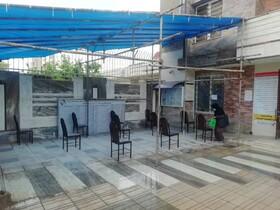 فاصله گذاری اجتماعی در شیراز منطقه 4