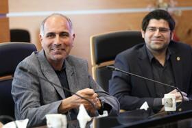 معارفه آقای رامین با حضور روسای مناطق صندوق ها