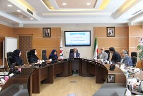 معارفه معاون جدید بازنشستگی در نشست با روسای مناطق