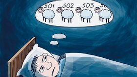 بیخوابی میتواند احتمال افسردگی افراد مسن را افزایش دهد