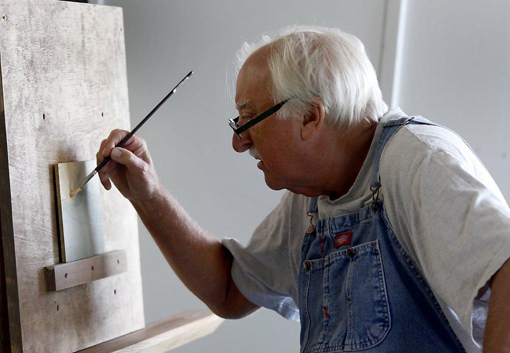 استاد نقاش و شاگرد