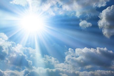 نور خورشید