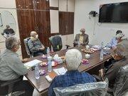 دیدار و گفتگوی معاون رفاه با اعضای کانون خوزستان
