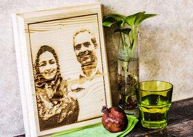 آموزش چاپ عکس روی چوب در منزل