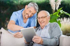 تکنیک هایی برای رسیدن سالمندان به آرامش