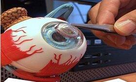تولید اولین لنز تماسی الکترونیک چشم در بلژیک