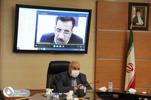 سومین جلسه ویدئو کنفرانس روسای کانون ها با هیات رییسه صندوق