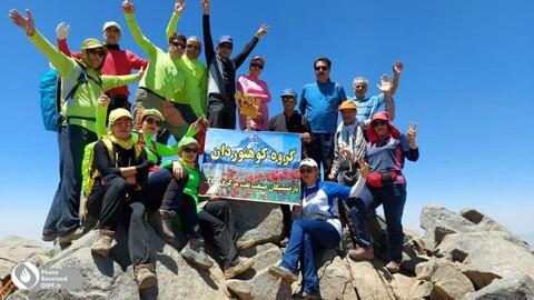 صعود تابستانه کوهنوردان بازنشسته اراکی