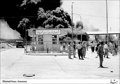 تصاویری از صنعت نفت در دوران دفاع مقدس