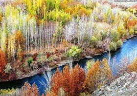 پاییز هزار رنگ حاشیه زایندهرود