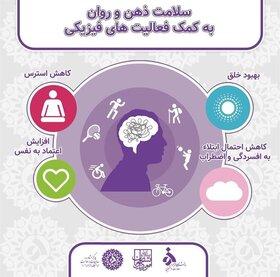 سلامت روان به کمک فعالیتهای فیزیکی